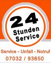 Service-Unfall-Notruf: 07032-93650