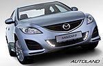 LED Tagfahrlicht und Mazda Lichtpaket als elegante und preiswerte Einbaulösung