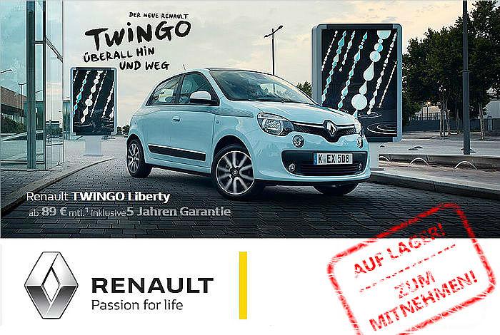Der neue Twingo - jetzt ab € 89,- im Monat
