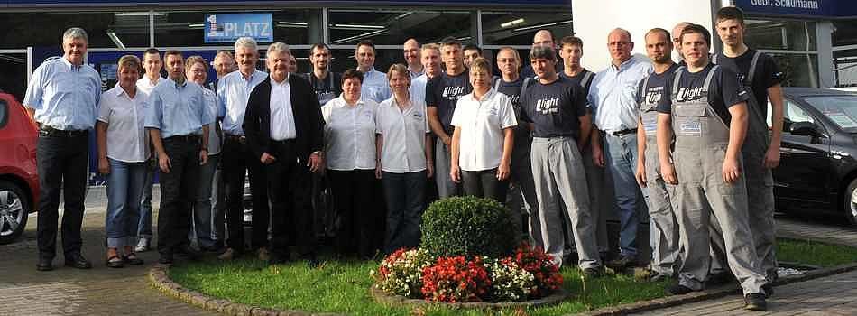 Unser zuverlässiges Mitarbeiterteam - Autohaus Gebr. Schumann GmbH, Saarbrücken Burbach - Unser Team