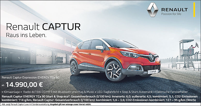 Renault Captur Bar