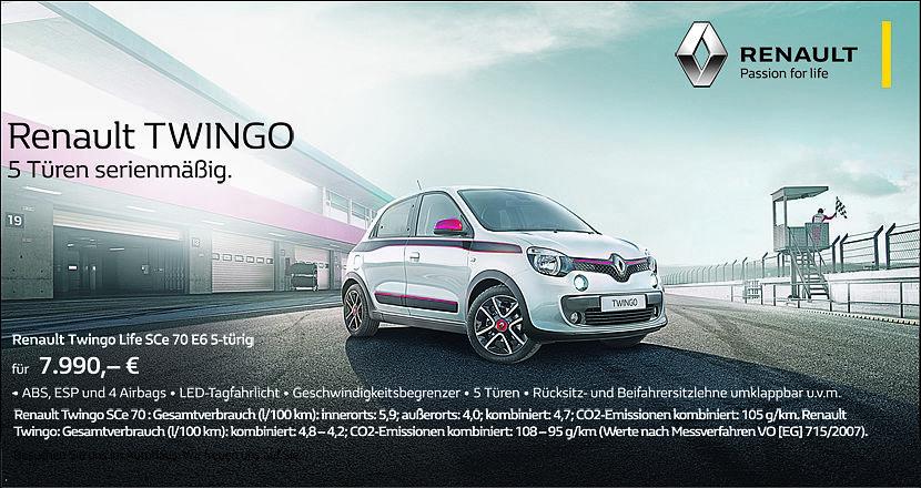 Renault Twingo Life Bar
