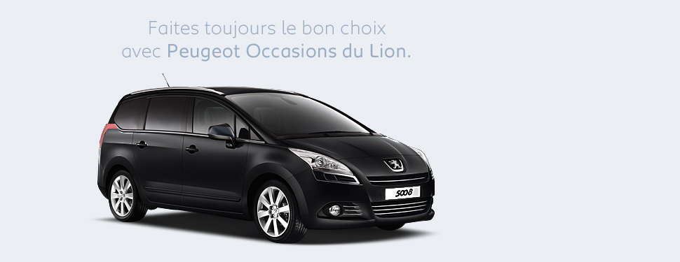 peugeot occasions du lion. Black Bedroom Furniture Sets. Home Design Ideas