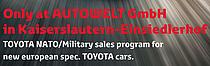 NATO military sales programm at AUTOWELT GmbH