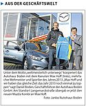Kooperation: Max Hoff und Autohaus Boden