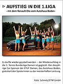 Renault Clio beflügelt Bundesliga Damen