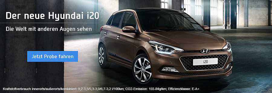 Der neue Hyundai i20
