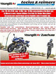 Youngstarevent bei Tecius & Reimers Automobile