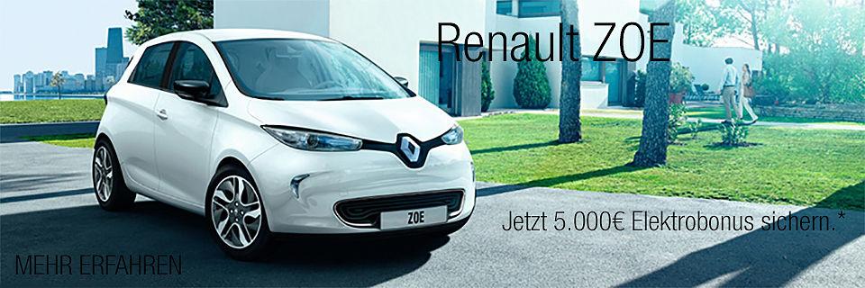 Renault Zoe Elektobonus