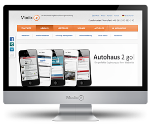 Modix.de Relaunch 