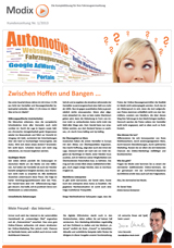 Kundenzeitung - Ausgabe Nr. 1/2013