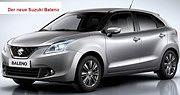 Der neue Suzuki BALENO - setzt neue Standards