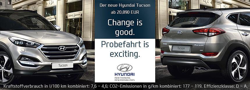 Der neue Hyundai Tucson - jetzt Probefahren! Bei Autohaus Bäumer in Ibbenbüren