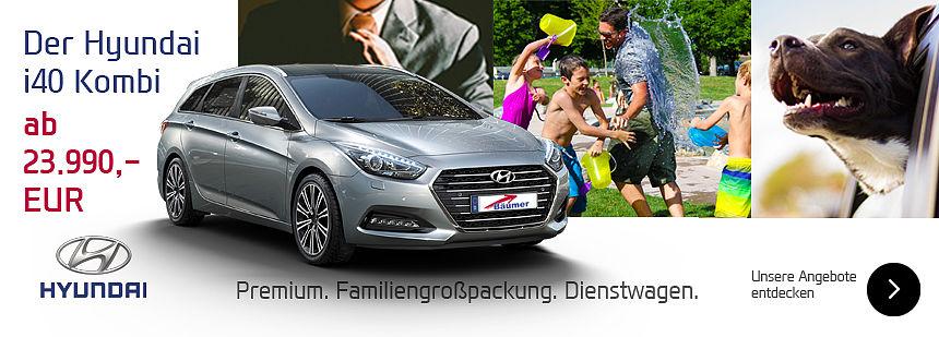 Hyundai i40 Kombi - Premium - Familiengroßpackung - Dienstwagen