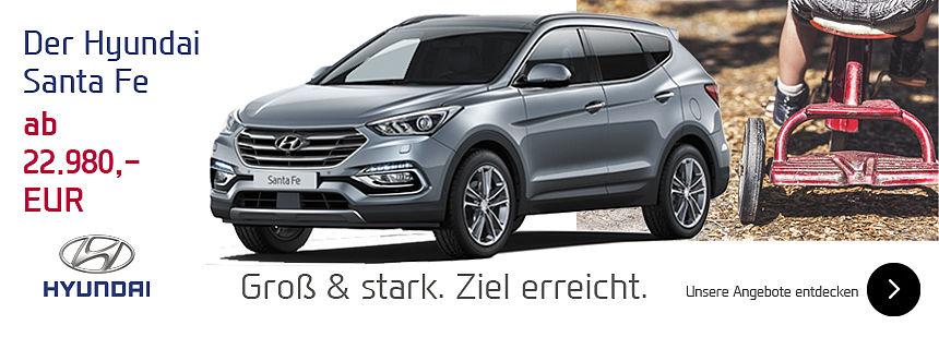 Hyundai Santa Fe - Ziel erreicht!