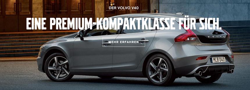 Volvo V40 - eine Kompaktklasse für sich