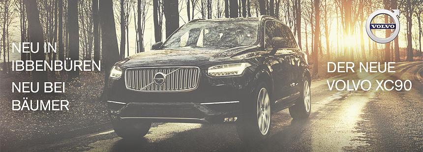 Der neue Volvo XC90 - neu in Ibbenbüren - neu bei Bäumer