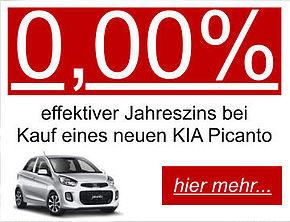 0,00%-Aktion Picanto
