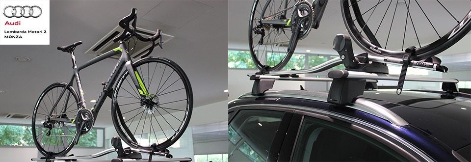 Porta Biciclette Audi Original