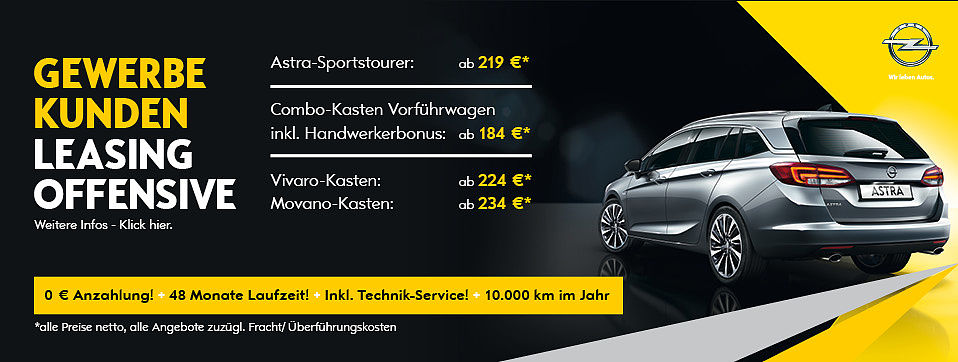 Autohaus Zossen - Opel, Neuwagen, Gebrauchtwagen, Sponsoring