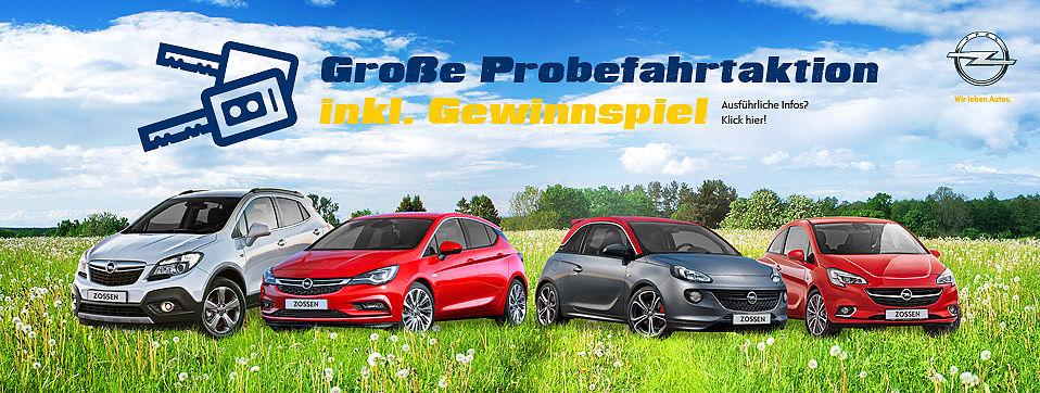 Opel Probefahrtaktion