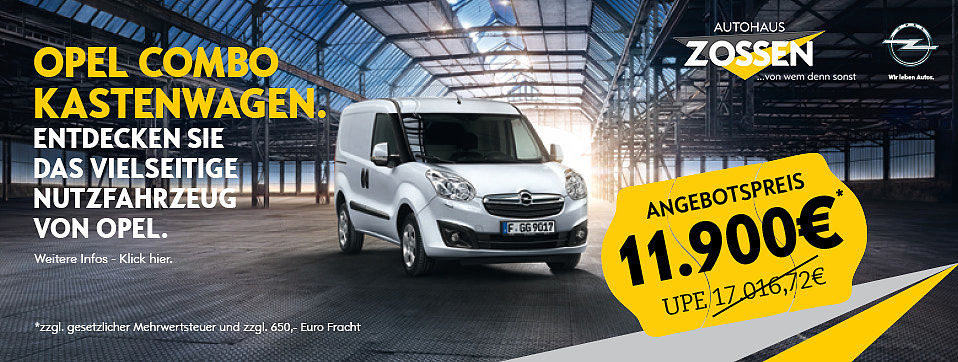 Opel Cpmbo Angebot