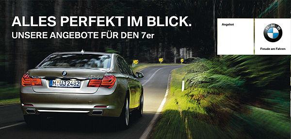 BMW 7er Service & Zubehör