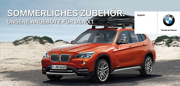 BMW X1 Service & Zubehör