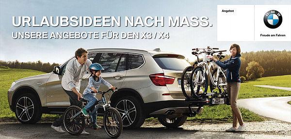 BMW X3/X4 Service & Zubehör