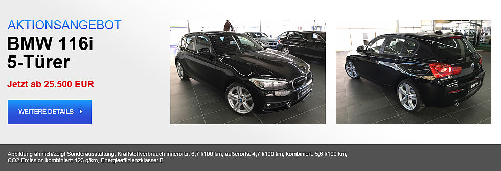 BMW 116i 5-Türer