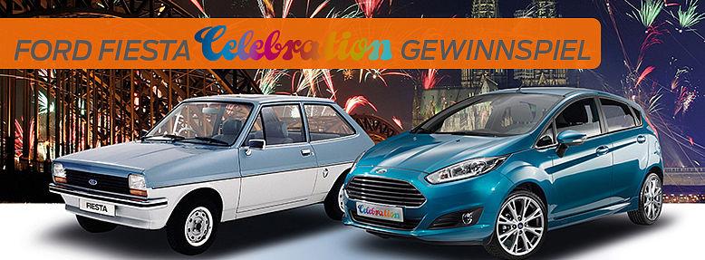 Ford Fiesta Jubiläumsgewinnspiel