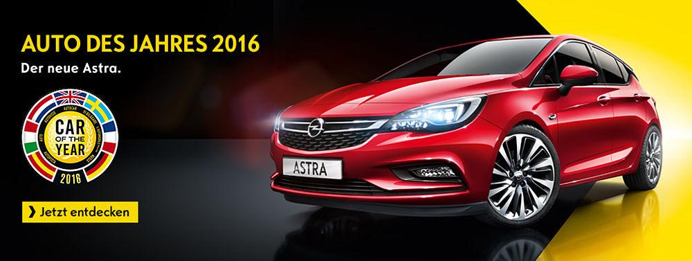 Auto des Jahres Der neue Astra