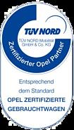 Tüv Nord- Zertifizierter Opel Partner