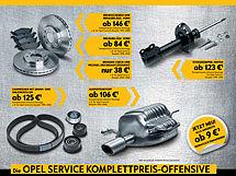 Die Opel Service Komplettpreis-Offensive.