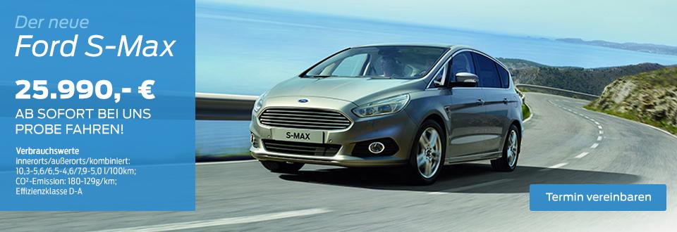 Der neue Ford S-Max
