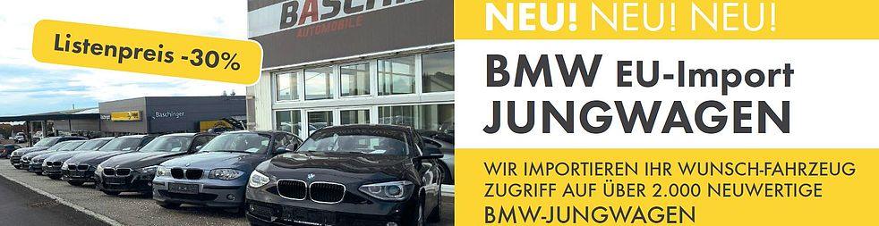 BMW EU-Importjungwagen LP - 30 %