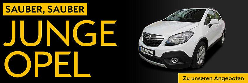 Junge Opel