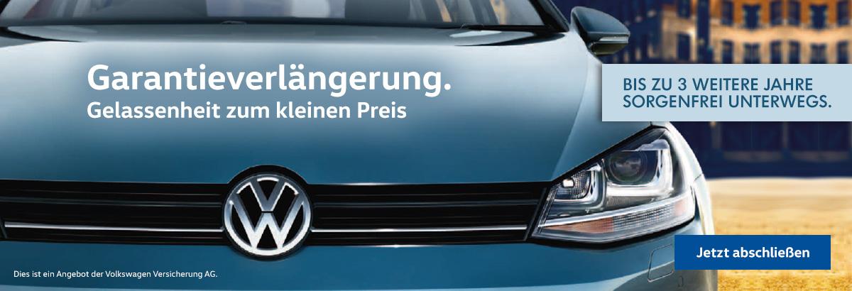 (VW) Online Garantieverlängerung