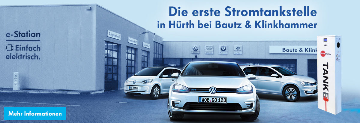 (VW) E-Tankstellen