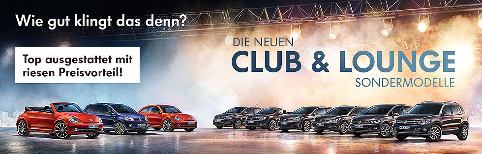 VW CLub Lounge Modelle Eichmann