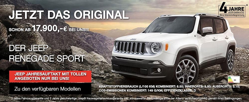 Autohaus Klee - Jeep Renegade (01/2016)