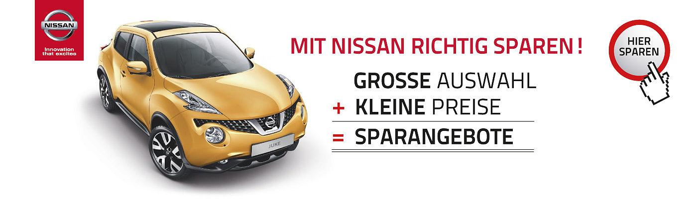 Nissan Sparangebote