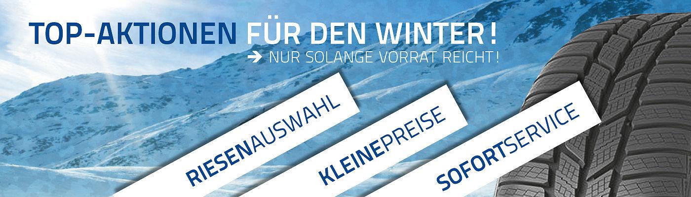 Rastetter Winterangebote - Winterräder - Winterreifen