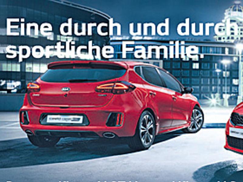 Der neue Kia cee's GT Line und Kia cee'd Sportswagen