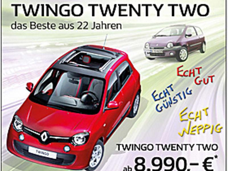 Twingo TwentyTwo - Das Beste aus 22 Jahren