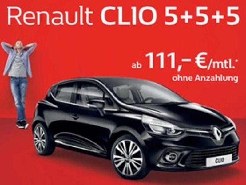 Renault Clio 5+5+5: