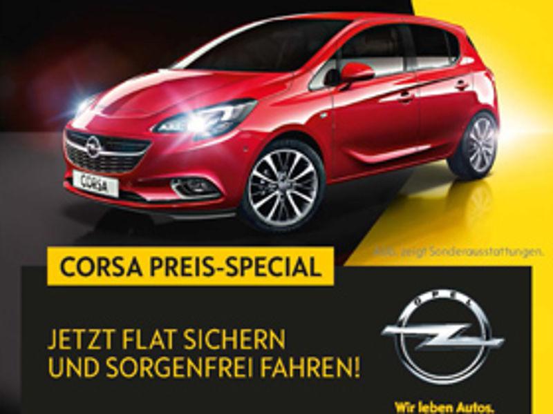 Corsa-Preis-Special