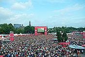 Maracana-Stimmung in Hamburg: Kia Fan-Arena bot vier Wochen lang weltmeisterliche Atmosphäre