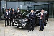 Kia-SUVs bei Landwirten beliebt: Hersteller verkaufte 2015 schon 1.000 Fahrzeuge an die Maschinenringe