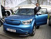Große Roadshow zur E-Mobilität mit Kia Soul EV